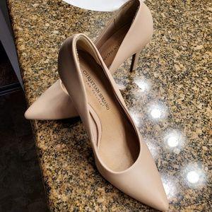 """Nude 4 """" heels"""